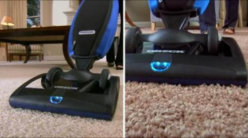 Oreck Magnesium Vacuum is a good choice for UltraTouch Satin Carpet