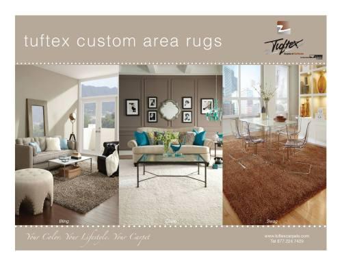 Tuftex Custom Area Rugs